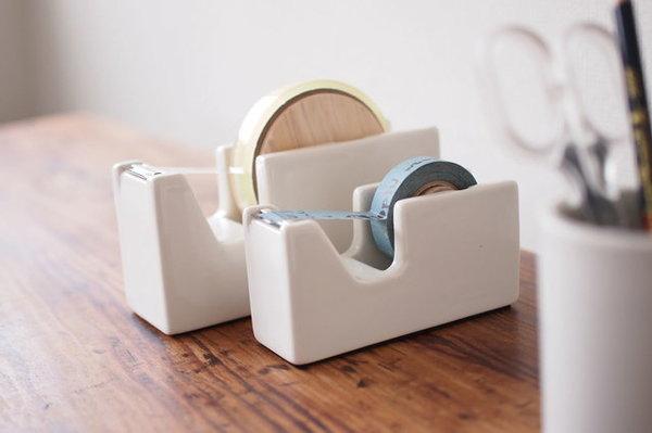白磁テープカッター