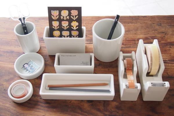 倉敷意匠/白磁の道具シリーズ