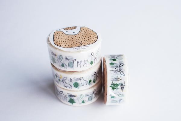 絵と木工のトリノコ/マスキングテープ