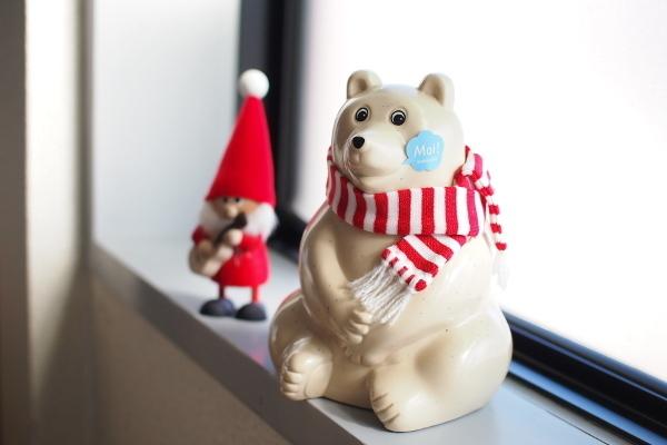 Polar Bear Money Box