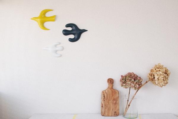 壁の鳥Linnut