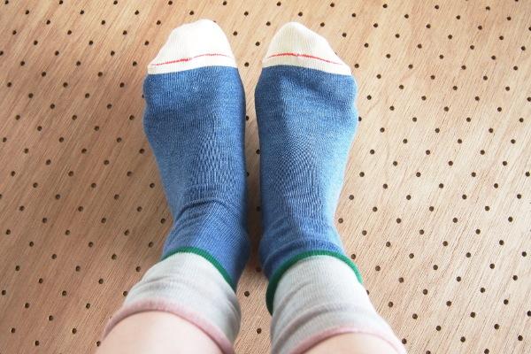 ふんわり靴下
