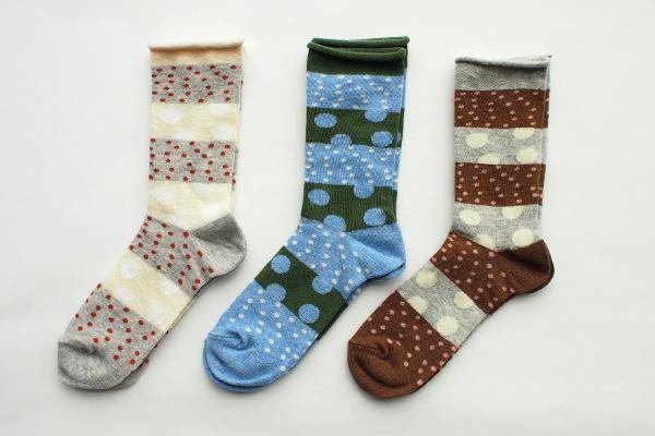 salvia/靴下