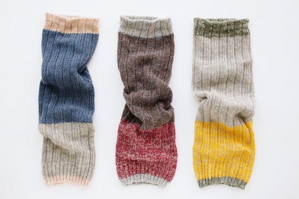 salvia/leg warmer