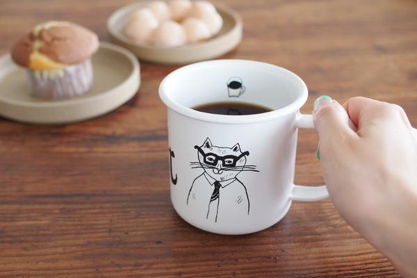 トラネコボンボンのマグカップ